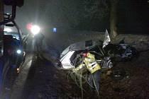 Nehoda sebevraha u Buštěhradu. Nezastavila ho ani policejní střelba
