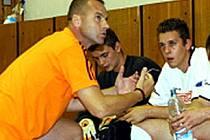 Trenér futsalistů Kladna Petr Hlaváč před zápasem se Šumperkem tajně doufá ve výhru o tři góly.