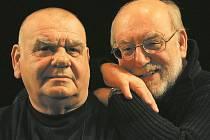 Honza a František Nedvědi.