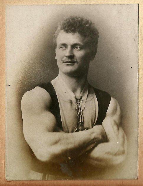 Otec kulturistiky Eugen Sandow