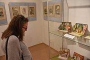 V rámci výstavy jsou k vidění rozkládací knihy, které znají čtenáři již více než 80 let.