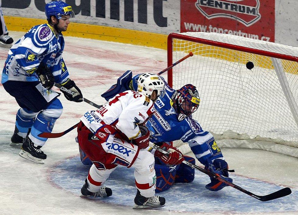 Slavia - Kladno, na 2:0 zvyšuje Vondrka