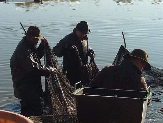 O ryby nebylo v Unhošti nouze.