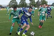 Sokol Hostouň - SK Kladno 2:0, Divize B, 28. 4. 2019