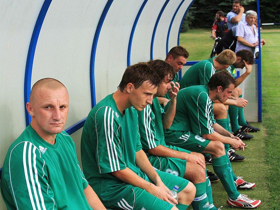 Tým Tatranu // Čechie Velká Dobrá - Tatran Rakovník, přípravné utkání,  hráno 17.7.2010