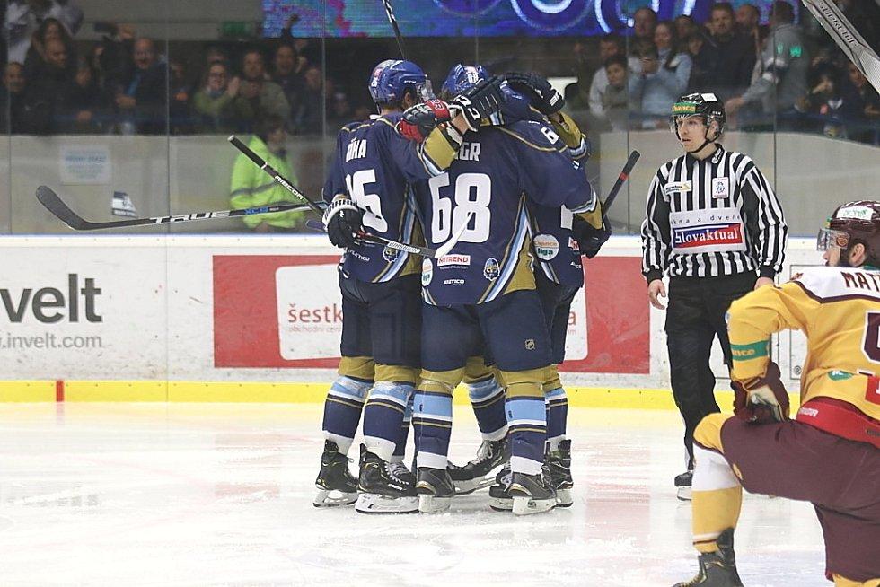 Kladno ve čtvrtém zápase semifinále přetlačilo Jihlavu 5:3.