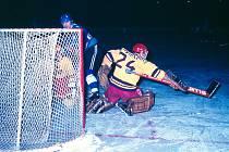 Eduard Novák byl postrachem hokejových brankářů, legendární kladenský útočník zaznamenal v lize celkem třináct hattricků.
