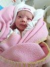 MIA KUGLEROVÁ, KLADNO. Narodila se 23. prosince 2017. Po porodu vážila 3,02 kg a měřila 47 cm. Rodiče jsou Lucie Vysinová a Martin Kugler. (porodnice Kladno)