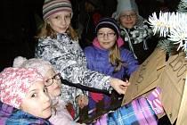 Rozsvícení Vánočního stromu splněných přání přilákal na náměstí Starosty Pavla tisíce lidí.
