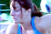 Kladenská atletka Eliška Klučinová skončila v rámci mítinku Kladno 2007 druhá na čtvrtce.