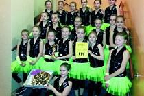 Dance Club Slaný obsadil hned dvě první místa