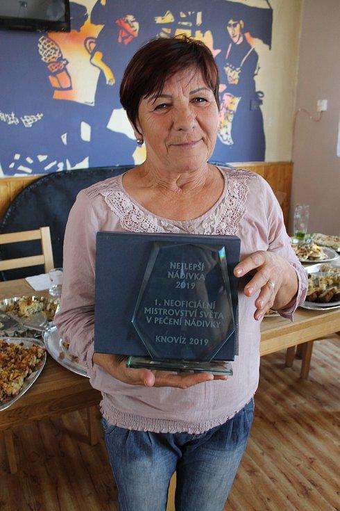 Vítězkou mistrovství světa O nejlepší nádivku vyhrála Libuše Tučková.