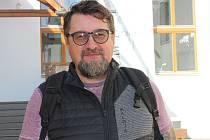 Jeden z šéfů kladenského cyklistického kroužku Velo Akademie Martin Raufer.