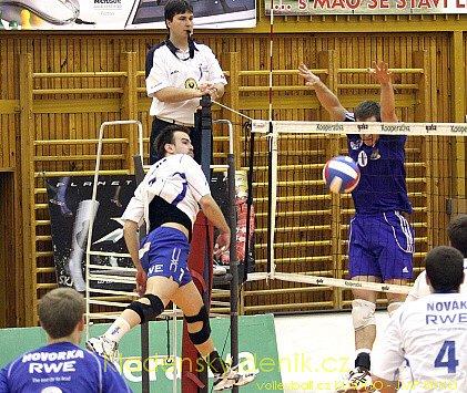 Kladno volleyball.cz -JMP Brno , Play-off čtvrtfinále, volejbalová Kooperativa extraliga mužů, 5.3.2009