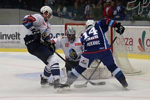 V hokejové extralize Kladno hostilo Brno.