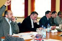 Slánská koalice při sobotním jednání.