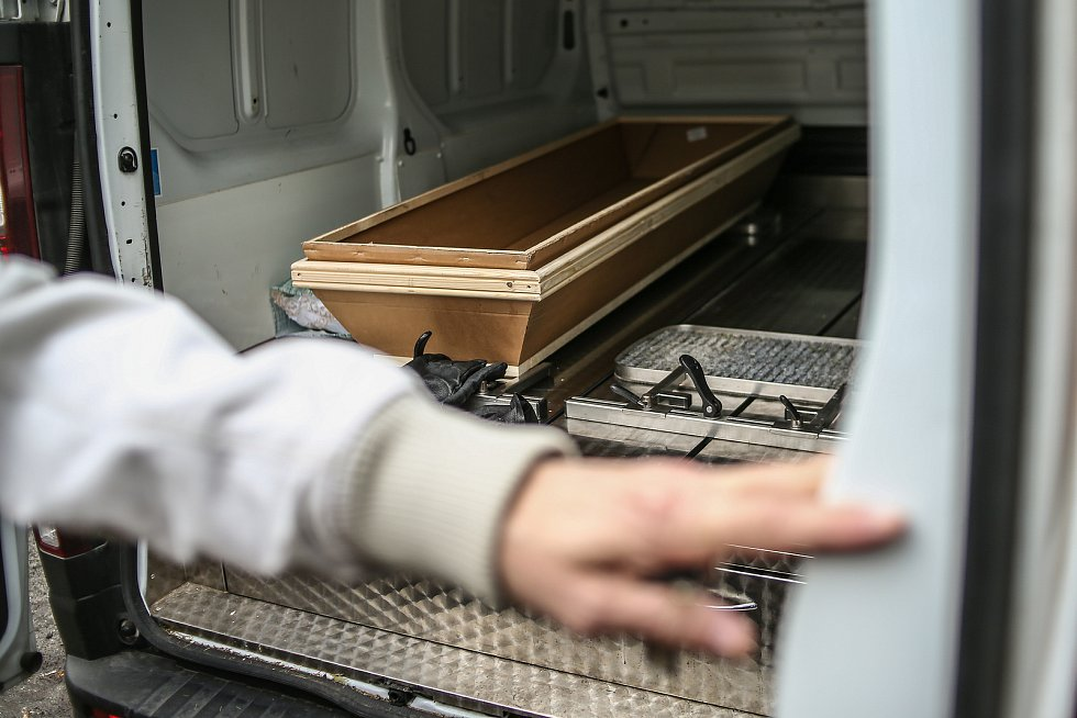 Pohřební služba Fric ve Slaném.