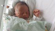 ŠTĚPÁN KOZELKA, BLEVICE  Narodil se 15. dubna 2018. Po porodu vážil 3,8 kg a měřil 52 cm. Rodiče jsou Veronika a Václav Kozelkovi.