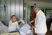 Volit mohli také lidé z Geriatrického a rehabilitačního centra Kladno.