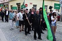 Zástupci hornických měst a obcí se letos sjeli do Jihlavy.