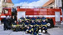 Smečenští dobrovolní hasiči.