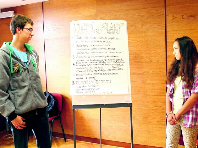 Studentské fórum ve slánském Grandu