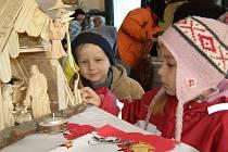 Členové zahrádkářské osady Podprůhon v Kladně ve středu dopoledne zahájili tradiční vánoční výstavu.