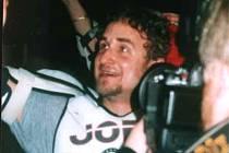 Jiří Kameš po baráži v roce 2003.