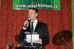 Korunovační ples Sokola Hostouň, moderátor Vlasta Korec