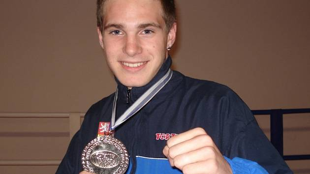 Tomáš Möstl se stříbrnou medailí.