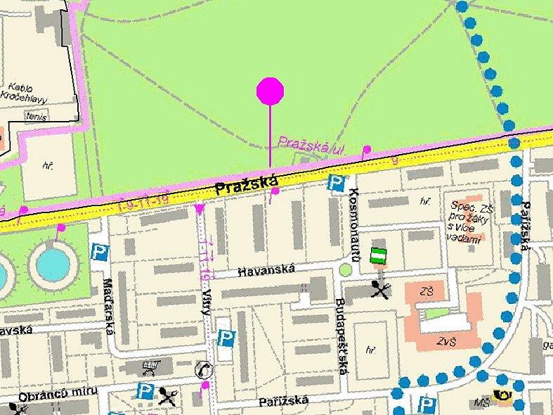 Na městském webu  jsou  k dispozici komplexní informace  o místech i  způsobech měření.