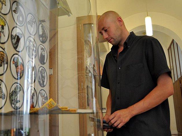 Výstava Michala Cihláře zaujala například Tomáše Ekrta z Jedomělic.
