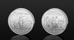 Tragédii Lidic a Ležáků připomenou mince.