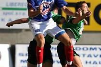 Jaromír Šilhan, bojuje s jabloneckým Michálkem, si připsal třetí ligový gól.