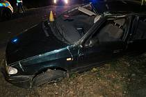 Tragická nehoda se stala u Drnku.