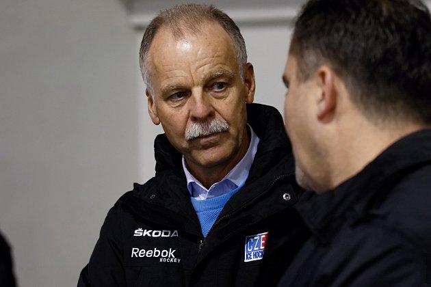 Zahájení velkého mezinárodního turnaje hokejových akademií ve Slaném. Slavomír Lener