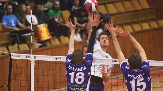 Kladno volejbal cz - SK Volejbal Ústí nad Labem 3:0, UNIQUA extraliga mužů, Kladno,12. 12. 2015