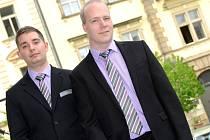 MARTIN A DUŠAN se registrovali v kladenském magistrátu.