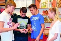 Prezentace učebních oborů v Integrované střední škole ve Slaném