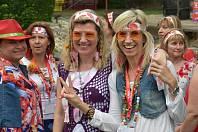 Akce připomínala první ročník hudebního festivalu z roku 1969.