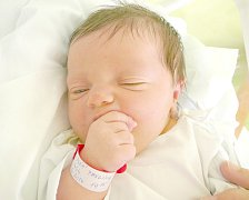 Pavlína Markupová, Žilina. Narodila se 2. června 2014. Váha 3,52 kg, míra 48 cm. Rodiče jsou Věra a Zdeněk Markupovi (porodnice Kladno).