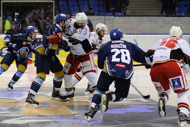 WSM liga, 5. čtvrtfinále Kladno - Prostějov.