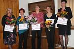 Pět dobrovolných knihovnic ze Středočeského kraje obdrželo ocenění Středočeský Kramerius 2017.