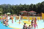 Kladenské letní koupaliště u Sletiště. Ilustrační foto.