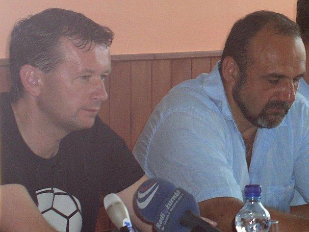 V Kladně už nejsou Tomáš Čuřín (vlevo) ani Michal Kraus.
