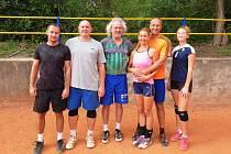 Vítězný tým posledního letního turnaje.
