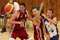 "BK Kladno ""A"" - Lions J. Hradec, 55:99, 1. basketb. liga mužů,  25.9.2011"