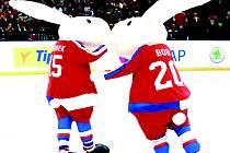 BOB A BOBEK ZAVÍTAJÍ na kladenský zimní stadion. Návštěvníci se s nimi mohou vyfotit hodinu před začátkem utkání.