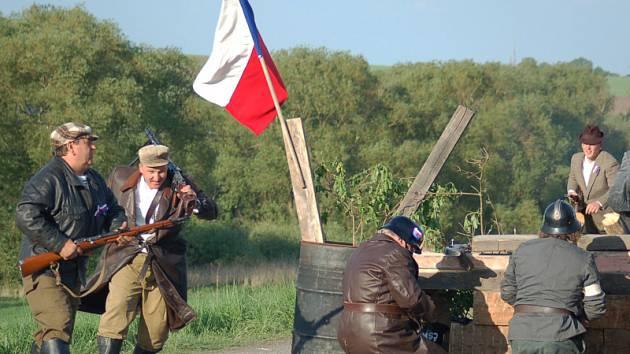 Ve čtvrtek se u Brandýsku střetla Rudá armáda s vojáky Wehrmachtu.