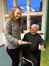 Zahájení X. ročníku cyklu Setkávání (nejen) pro seniory v knihovně ve Slaném. Prvním hostem byl psychiatr a spisovatel Jan Cimický